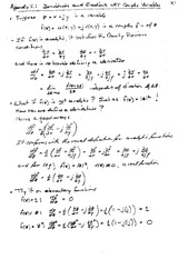 ECE 231 Derivatives and Gradients Notes