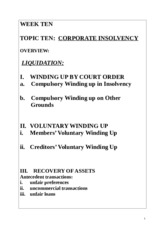 Week 10 - Insolvency Pt 1.doc