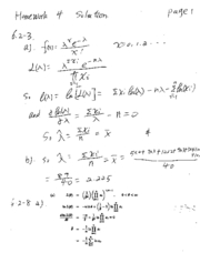 STAT 415 - Homework 4 Solution