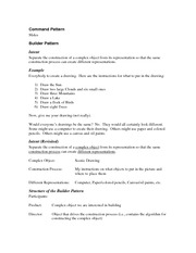 Design Pattern outline-student