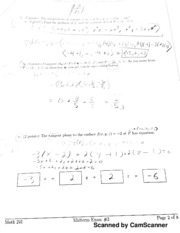 UIUC MATH 241 Midterm Exam - Scanned by CamScanner Scanned by