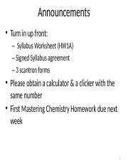Ch2 Measurement & Problem Solving Part 1 SP 15