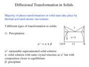 Diffusional Transformations in Solids-Homogneous Nucleation