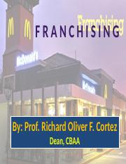 Lesson-Intro to Buss -Franchising