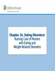 Chapter 24 Eating Disorders.ppt
