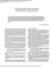 Week 1 _The Peaceful Path of Jihad_ Nasyid Revolution in South East Asia_.pdf