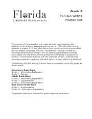 FSA_6W_Practice-Test_approved.pdf - Grade 6 FSA ELA ...