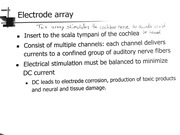 The Electrode Array