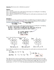 Mendelian Genetics Worksheet And Answer Key: Mendelian Genetics Worksheet Answers   Rringband,