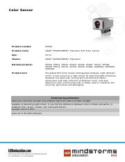 45506 Color Sensor product sheet.pdf