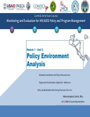Policy Environment Analysis.pdf