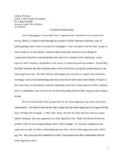 Consuming Grief Essay