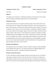 lab report electrical conductivity Lab report electrical conductivity introduction there are some substances that are capable of conducting electricity, and the reason they conduct electricity is because of the type of compound the substance is.