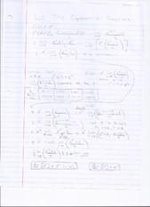 3.2 Notes - Exponential Functions