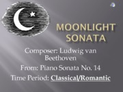 07 Moonlight Sonata