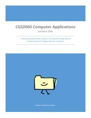 CGS2060 Lecture One for Winter 2015 12_22_14.pdf