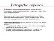 W4)Orthographic Projections part 1