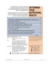 Determine Your Nutritional Health.pdf