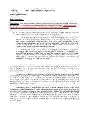 FINC 331 Research Paper Group 5--Final (1) docx - Coca-Cola