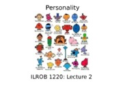OB1220Lecture2_Personality_Fall2015