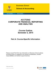 ACCT2542_Corporate_Financial_Reporting_and_Analysis_S2_2015_Part_A (Updated on Page 17)
