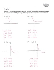 Practice Test for Chapter Three ANSWERS