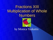 Fractions XIII1