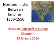 Northern India Between Empires chp 4