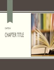 Chapter Presentations Template(2)