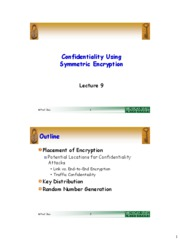 Lec09_Symmetric_Confidentiality