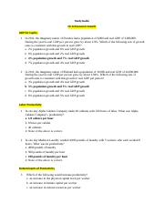 Study Guide (M2)