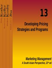 PPT 14 Pricing Strategies and Programs R