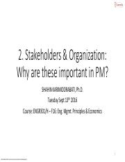 ENGR 301. 2. Stakeholders and Organizations - Student Version.pdf