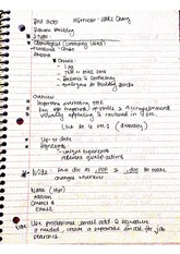 BU 200 Resume Building Notes