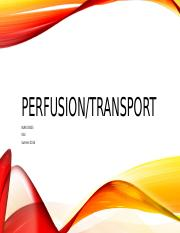Perfusion Transport.pptx