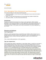 Managing Time, Resources, and Technology_UA.docx