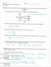 Chem 1B - F14 - Quiz 2 KEY