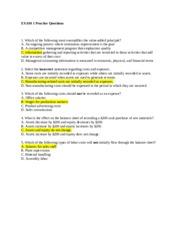 EXAM 1 Practice Questions ANSWERS (2)