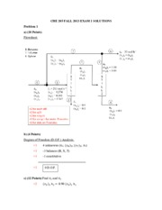 Exam 1 Solutions - Fall '13
