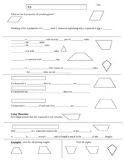 5.5H Trapezoid Notes