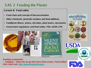 Food safety 2013