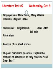 an analysis of the nature motif in the open boat by stephen crane