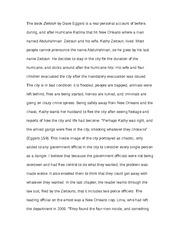 zeitoun essay