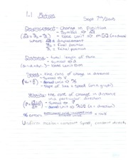 PH Notes Motion