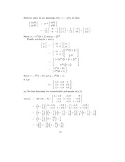 Linear Algebra Solutions 71