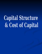 Lecture 3 - Cost of Capital & Capital Structure.pptx