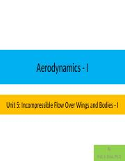 Unit 5A Applied Aerodynamics and Introduction to Propellers