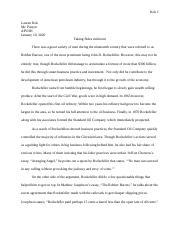 John d rockefeller term papers sample cover letter for investment banking internship