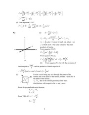 Analytical Mech Homework Solutions 122