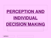 PERCEPTION_AND_DECISION_MAKING